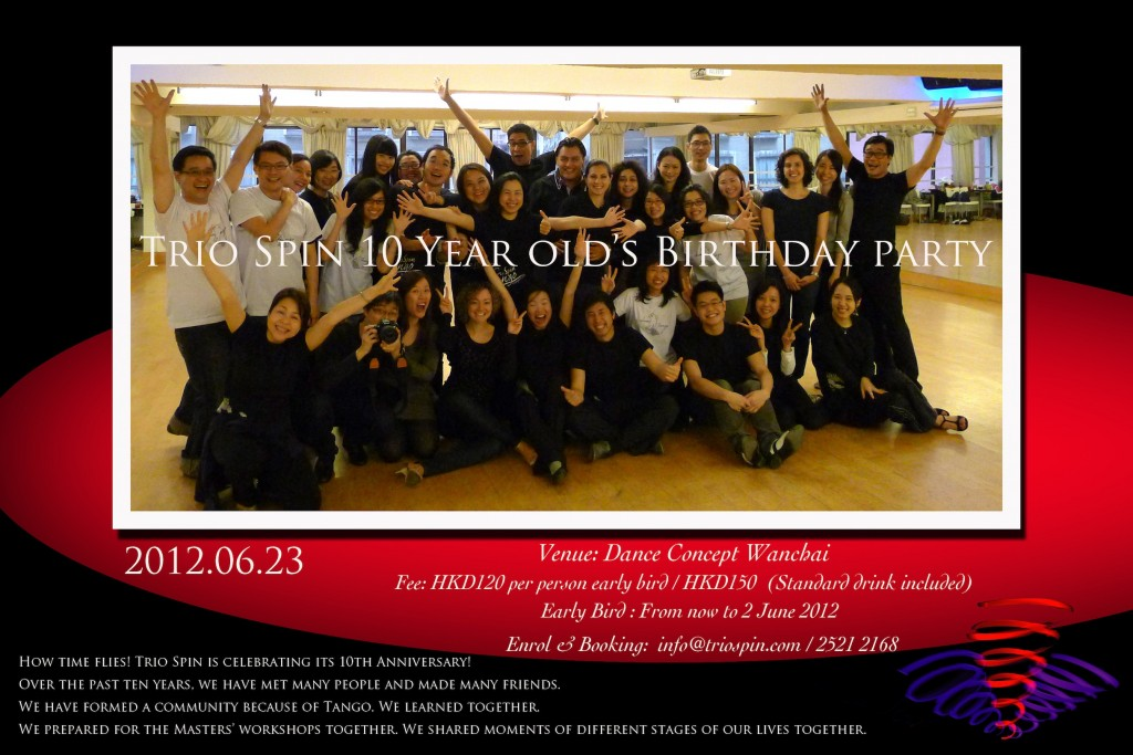 Trio Spin 10th Anniversary